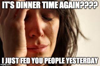 Dinner problem